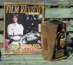 1997 Ltd Edition Star Wars 20th Anniversary VHS Box Set & Film Review magazine