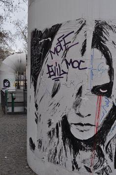 Artist Konny Steding...Paris
