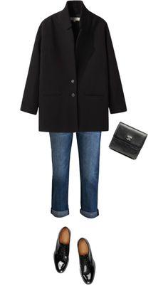 Vanessa Bruno Athé Wool Twill Manteau Coat