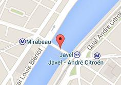 Pont Mirabeau: carte