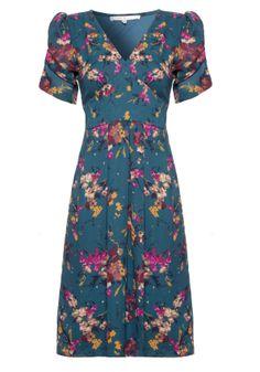 Floral Tea Dress - Dresses - Outlet #pintowin @Yumi Direct