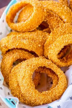 These baked onion rings are sliced thick, lightly seasoned, and cooked in the oven until tender on the inside and crisp on the outside. They're perfect for a healthier, low-hassle side dish or easy snacking.