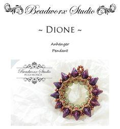 Návody   G&B beads Beaded Jewelry Designs, Beads, Pendant, Tutorials, Beading, Hang Tags, Bead, Pendants, Pearls