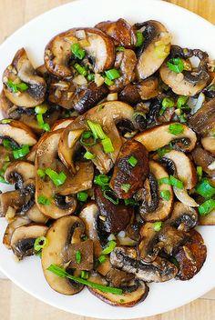 Mushroom and Garlic saute (paleo, gluten free) by JuliasAlbum.com, via Flickr