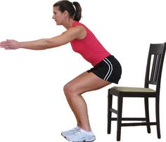 Image result for mini squats standing exercise image