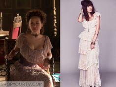 Reign: Season 2 Episode 8 Princess Claude's Layered Lace Dress