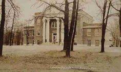 Lake County Court House, Baldwin, MI (1940s)