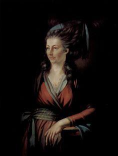 """Portrait of Maria Hess"" by Henry Fuseli (1778-1779)"