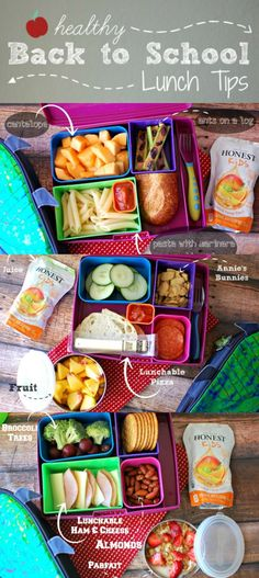 Healthy Back to School Lunch Tips on How To