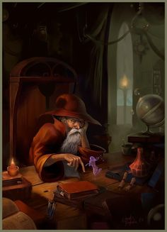 Of Faeries and Old Wizards