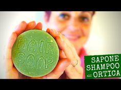 ricetta e procedimento per fare a casa il sapone shampoo all'ortica, dalle proprietà sebo regolatrici, purificanti e astringenti,
