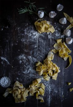 two red bowls   kabocha, sage & creme fraiche pappardelle + a vermont creamery giveaway!