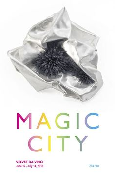 [ZITA HSU] : oasis, brooch(2013) / Exhibition : MAGIC CITY, Velvet da Vinci gallery, USA, June 12- July 14 2013