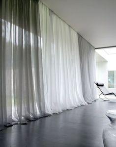 Bildergebnis für weiße gardinen als sonnenschutz