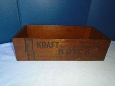 Kraft Cheese box.  Cheese Box.  Vintage Cheese box. Kraft foods.  Kraft Phenix. by Montyhallsshowcase on Etsy