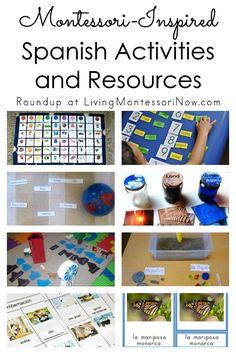 Montessori-Inspired Spanish Activities and Resources