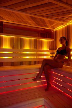 Come and enjoy our sauna room.