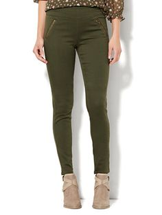 Shop Soho Jeans - SuperStretch High-Waist Pull-On Legging. Find your perfect size online at the best price at New York