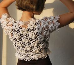 Simply gorgeous crochet lace!
