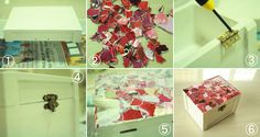 How to Decoupage : A Wooden Chest ()