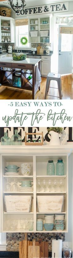 Ways to update the kitchen