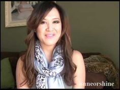Three Awesome New Ways to Wear Your Scarves - YouTube. Love this idea of combining a solid scarf with a print scarf!