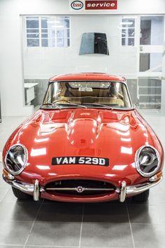 1966 Jaguar E-Type 2+2 Series 1 restored by Bridge Classic Cars, Suffolk, UK