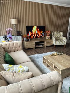 Bu Sıcacık Dekorun Duvarları Bir Başka Alem!   Ev Gezmesi Interior Design Ikea, Contemporary Interior Design, Interior Styling, Interior Decorating, Living Room Decor Furniture, Home Furniture, Bedroom Decor, Ikea Kids Room, House Design