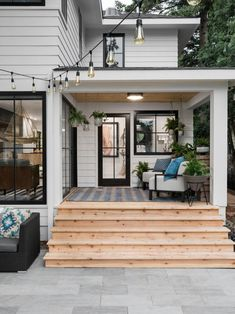 HGTV Urban Oasis 2019 is a celebration of the hygge lifestyle and celebrates the joy of everyday living from foundation to roofline. Interior Exterior, Exterior Design, Future House, Outdoor Spaces, Outdoor Living, House Goals, Cozy House, My Dream Home, Modern Farmhouse