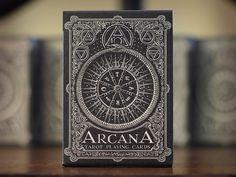 Arcana Tarot Playing Cards Dark