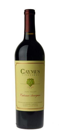 Caymus Cabernet sauvignon 2012, 2002, 2010, 2008