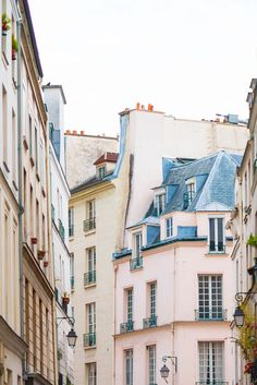 Paris Fine Art Photography Print, Pink Building in Paris by Georgianna Lane $30.00