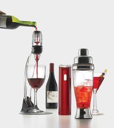 Pour it on! Essential bar tools from Metrokane & Vinturi.