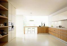 Risultati immagini per cucine legno massello moderne