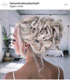 f7d4c4786ca4ad4c4b822637ff758755 - Beautiful bridal updo