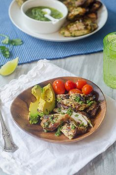 Spicy Cilantro-Grilled Chicken