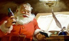 No, Coca-Cola did not brand Santa in their corporate red and white. Stop telling people that.