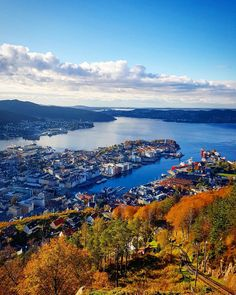 My gorgeous Bergen in the fall!!!  (link to instagram for photographer's profile)