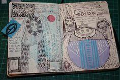 Sketchbook page by Ninox