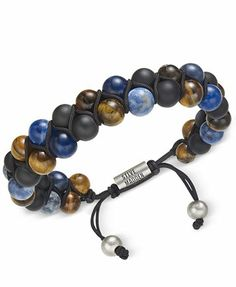 71015bc5845 Steve Madden Men s Multi-Colored Bracelet Men - All Accessories - Macy s