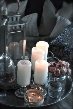 candles & glass