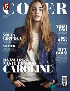 Caroline Hollitch #Cover #fashion Next Top Model