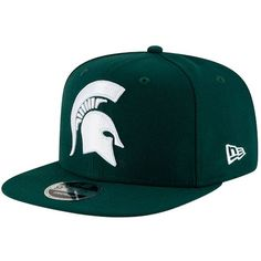 competitive price 11762 092c9 Michigan State Spartans New Era State Clip Original Fit 9FIFTY Adjustable  Snapback Hat - Green