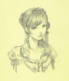 #art #drawings #sketches Jasmin Darnell(yasahime)...