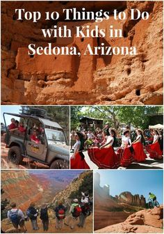 I recently learned about all the things to do with kids in Sedona, Arizona and it made me want to book a trip! Check out the Top 10 on Mom on the Side