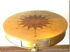 A step by step tutorial for painting a compass rose!! Easy to follow!