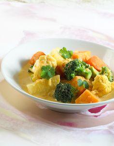 En fargerik og smaksrik middag proppfull av grønnsaker!