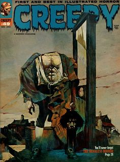 Creepy #49 - Cover by Sanjulian
