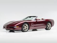 "2002-03 Chevrolet C5 Corvette Convertible ""50th Anniversary"""