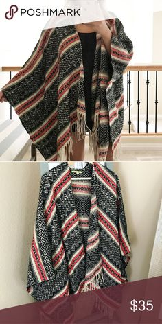 Tribal print cardigan New! Sweaters Cardigans